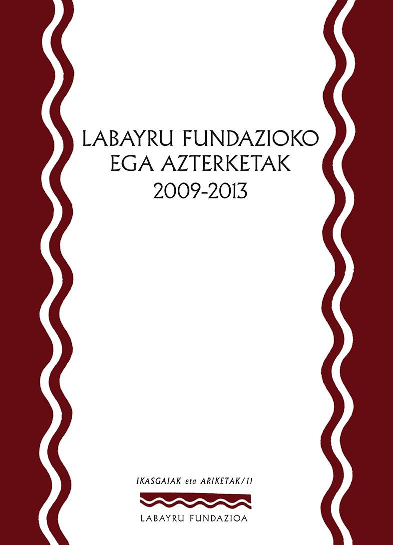 EGA azterketak liburuan argitaratuta