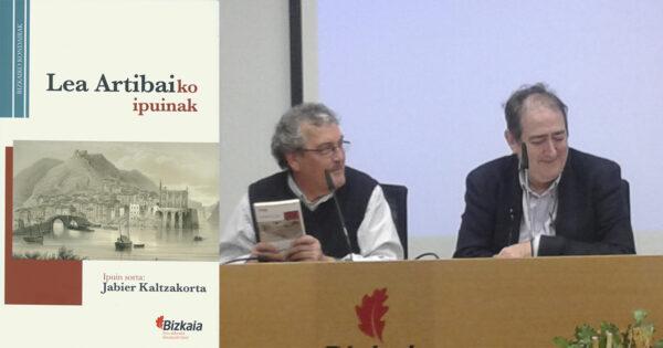 Jabier Kalzakortak Lea Artibaiko ipuinak liburu baten batu ditu