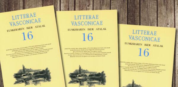 Litterae Vasconicae aldizkariaren zenbaki barria