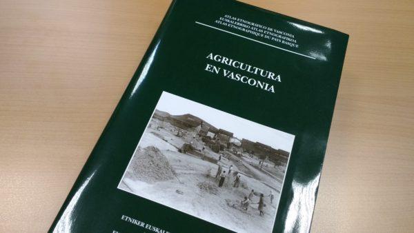 Atlas Etnográfico de Vasconia egitasmoko ale barria nekazaritzari buruz