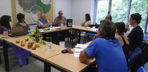 Luis Manuel Peña 'Baserritik mundura' jardunaldietan