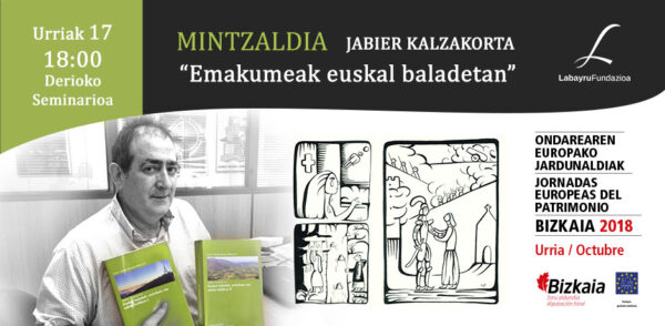 Jabier Kalzakortaren hitzaldia urriaren 17an