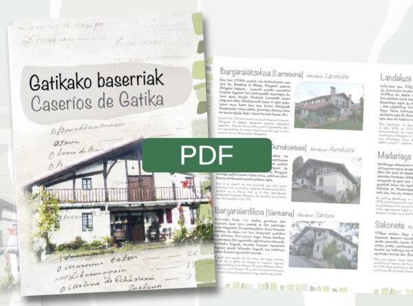 Gatikako baserriak-Caseríos de Gatika liburuxkaren aurkezpena