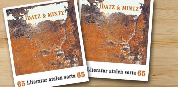 Idatz & Mintz aldizkariaren 65. zenbakia